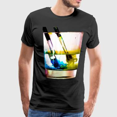 Paintbrushes - Men's Premium T-Shirt