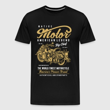 Native Motorcycle - Men's Premium T-Shirt