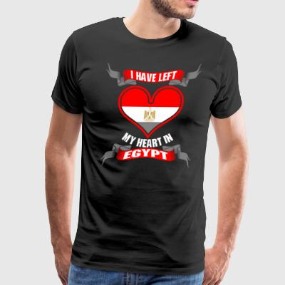 I Have Left My Heart In Egypt - Men's Premium T-Shirt
