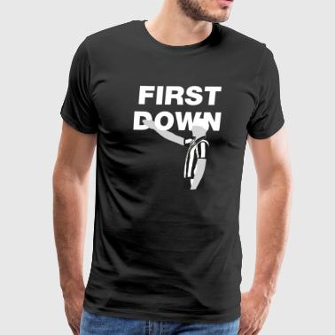 First Down - Men's Premium T-Shirt