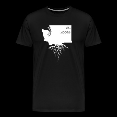 Washington Roots | State of Washington - Men's Premium T-Shirt