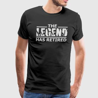 The Legend Has Retired - Men's Premium T-Shirt