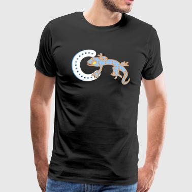Crested Gecko Shirt - Men's Premium T-Shirt