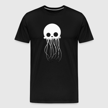 Skull Light Jellyfish Sea Animal Charm Gift - Men's Premium T-Shirt