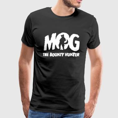 Mog Dog the Bounty Hunter - Men's Premium T-Shirt