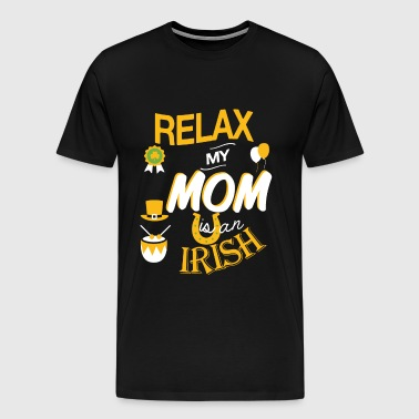 Irish mom - My mom is an Irish - Men's Premium T-Shirt