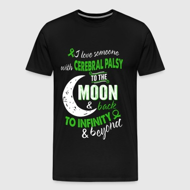 Someone with cerebral palsy - Infinity, beyond - Men's Premium T-Shirt