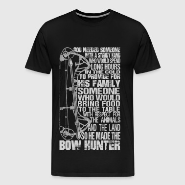 Bow hunter - Awesome bow hunter t-shirt - Men's Premium T-Shirt