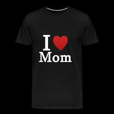 mom love mother's day present - Men's Premium T-Shirt