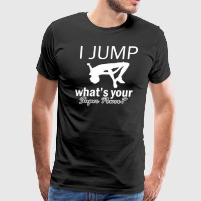 high jump design - Men's Premium T-Shirt