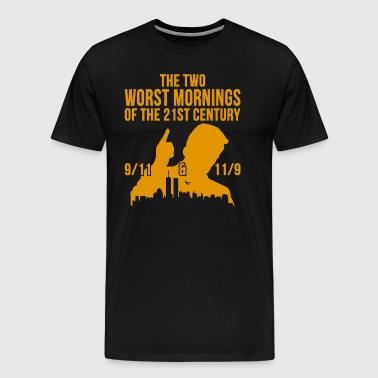 The Two Worst Mornings of the 21st Century 911 - Men's Premium T-Shirt
