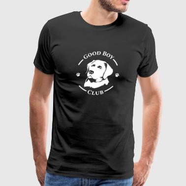 Labrador tshirt heartbeat present gift Dogowner - Men's Premium T-Shirt