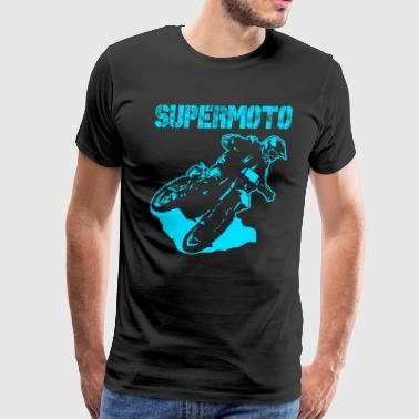Supermoto Hypermoto Drift - Men's Premium T-Shirt