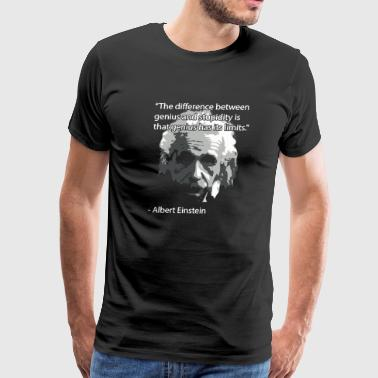Einstein Quote - Men's Premium T-Shirt