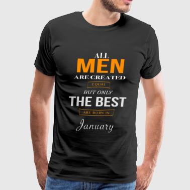 January Birthday - Men's Premium T-Shirt