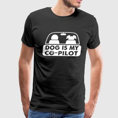 Dog is My Copilot - Men's Premium T-Shirt