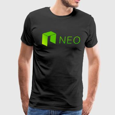 Neo Logo and Name Side - Men's Premium T-Shirt