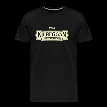 Kilbeggan Irish Whiskey - Men's Premium T-Shirt