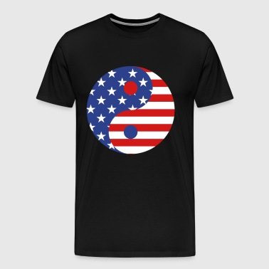 usa symbol - Men's Premium T-Shirt