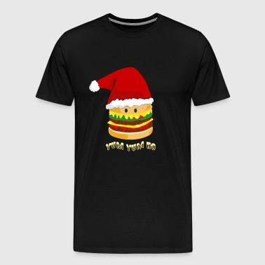Christmas Burger - Men's Premium T-Shirt