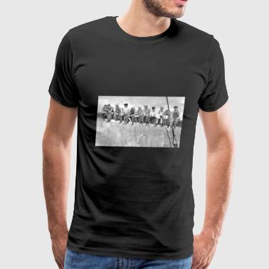 Building Empire State Building New York City - Men's Premium T-Shirt