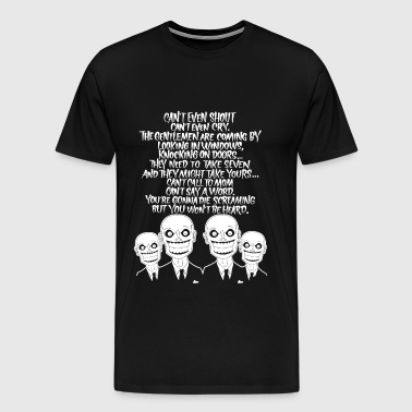 Hush - Buffy the Vampire  fan - Men's Premium T-Shirt