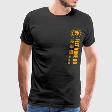 jeet kune do EST 1967 martial arts Yellow - Men's Premium T-Shirt