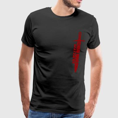 Krav maga dirk Israel Martial arts military - Men's Premium T-Shirt