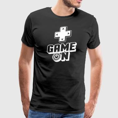 Games - Gamer -Gaming - Videogames - Computer - Men's Premium T-Shirt