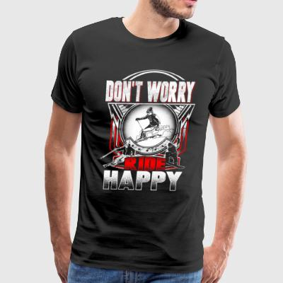 Ski happy - Men's Premium T-Shirt