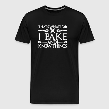 Bake Shirt - Men's Premium T-Shirt