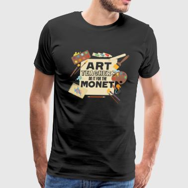 ART TEACHER SHIRT - Men's Premium T-Shirt