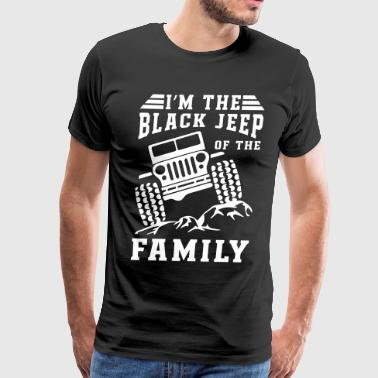 Black Jeep Of The Family - Men's Premium T-Shirt