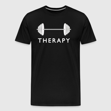 Gym Therapy / Weight Workout - Men's Premium T-Shirt