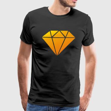 Nebula Diamond Funny T Shirt - Men's Premium T-Shirt