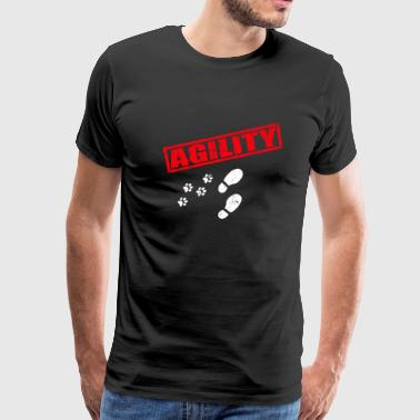 Agility Dog Sport - Men's Premium T-Shirt