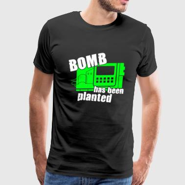 Bomb Has Been Planted - Men's Premium T-Shirt