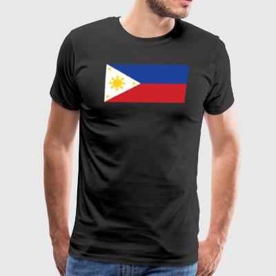 Flag of the Philippines Cool Filipino Flag - Men's Premium T-Shirt
