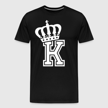 Name: Letter K Character K Case K Alphabetical K - Men's Premium T-Shirt