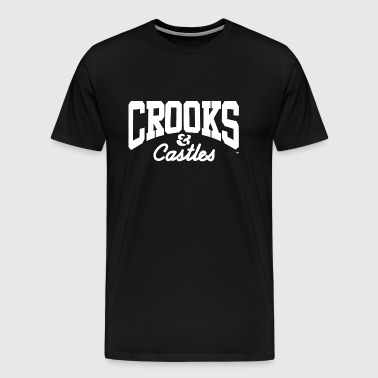 Crooks And Castles - Men's Premium T-Shirt