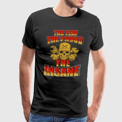 The Insane Mechanic T-Shirts - Men's Premium T-Shirt