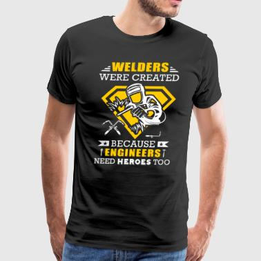 Welders Ware Created T-Shirts - Men's Premium T-Shirt