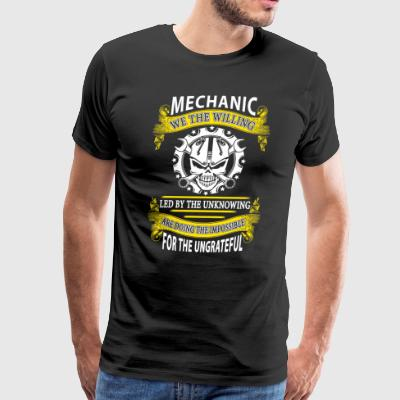 Mechanic We The Willing T-Shirts - Men's Premium T-Shirt
