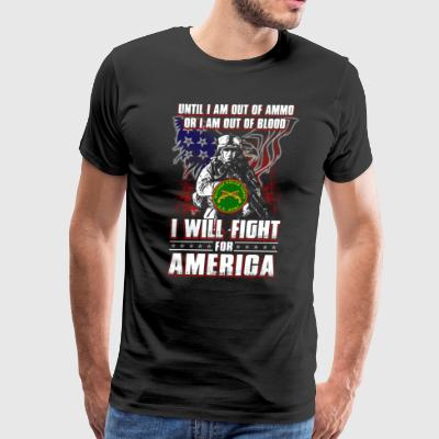 Until I Am Out Of Ammo Military Police - Men's Premium T-Shirt
