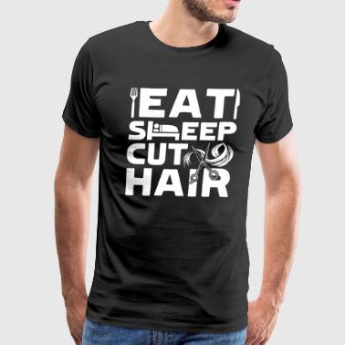 FUNNY HAIR STYLIST SHIRT - Men's Premium T-Shirt