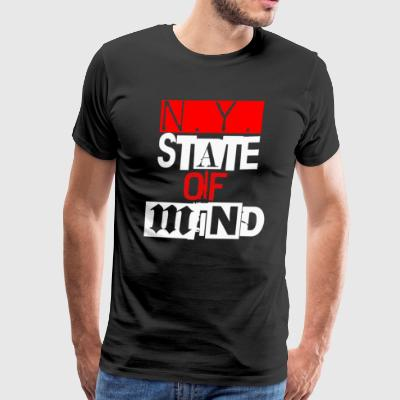 Ny State Of Mind - Men's Premium T-Shirt