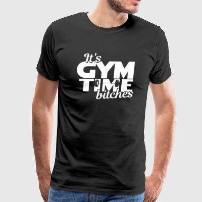 Fitness - Fit - Work out - Working out - Gym - Men's Premium T-Shirt