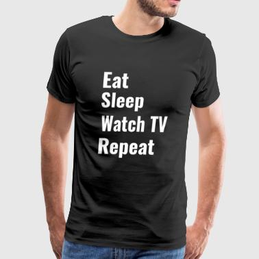 Watch TV - Men's Premium T-Shirt
