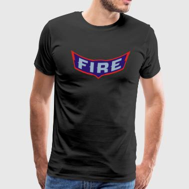 wing of chicago fire - Men's Premium T-Shirt