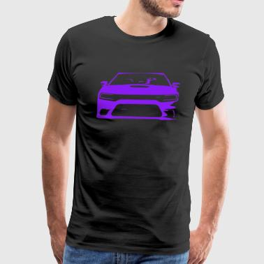 Plum Crazy Charger - Men's Premium T-Shirt